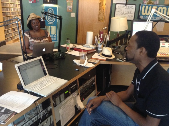 Kandia and Duane Harriott at WMFU